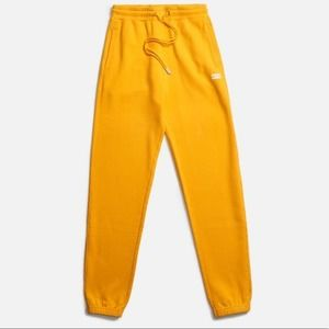 KITH Chelsea Sweatpant Jogger Golden Yellow